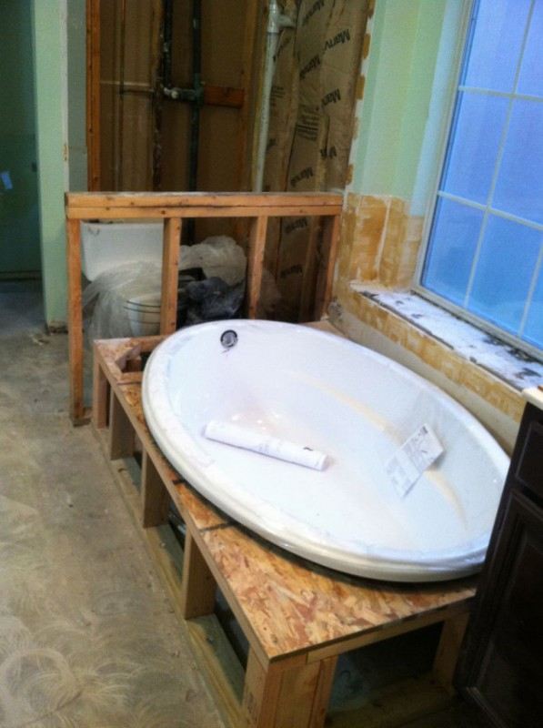 Plumbing manning remodeling and construction for Garden bathtubs