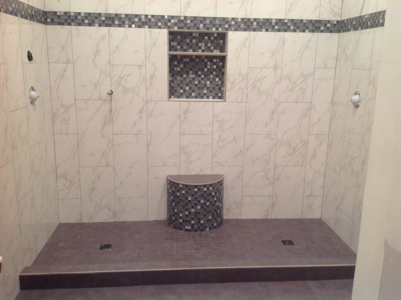 see a bathroom project step by step manning remodeling