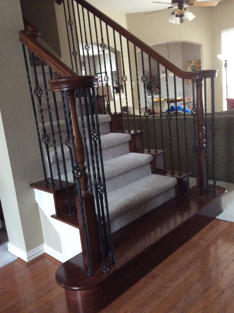 iron stair balusters